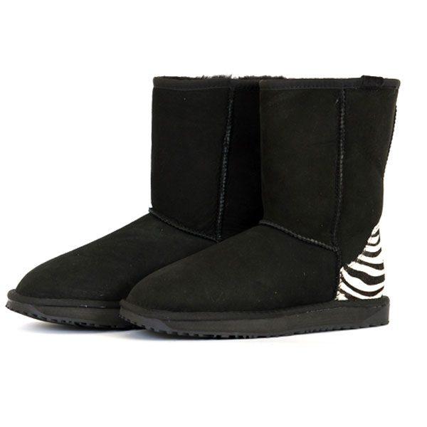 Fashion-Short-UGG-Black-Zeb