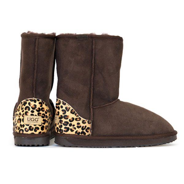 Fashion-Short-UGG-Boot-Choc