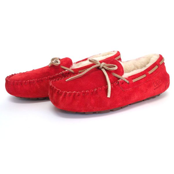Moccasins-Red